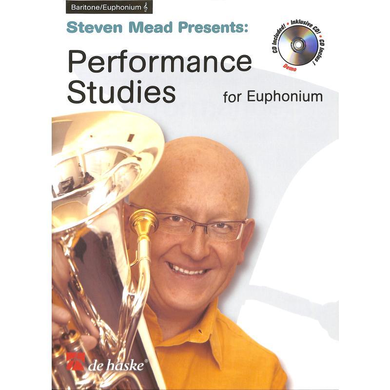 Titelbild für HASKE 1064160 - PERFORMANCE STUDIES FOR EUPHONIUM