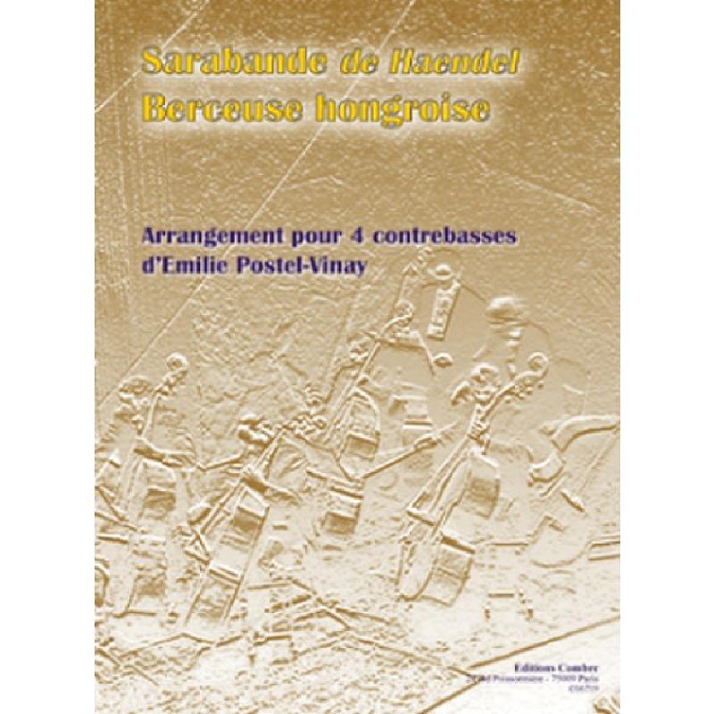 Titelbild für COMBRE 6719 - SARABANDE + BERCEUSE HONGROISE