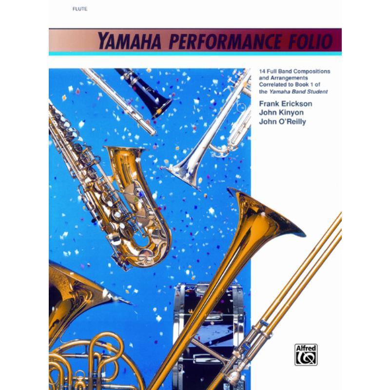Titelbild für ALF 11670 - YAMAHA PERFORMANCE FOLIO