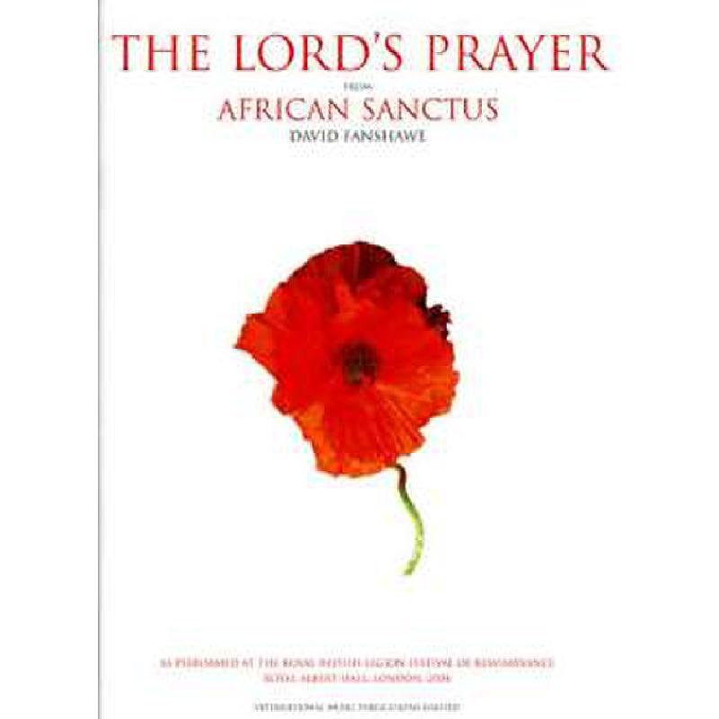 Titelbild für IM 10108A - THE LORD'S PRAYER (AFRICAN SANCTUS)