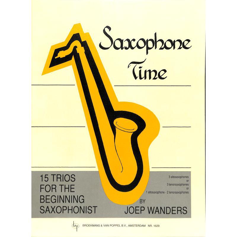 Titelbild für BVP 1629 - SAXOPHONE TIME - 15 TRIOS