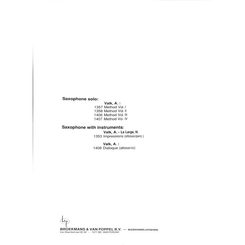 Notenbild für BVP 1629 - SAXOPHONE TIME - 15 TRIOS