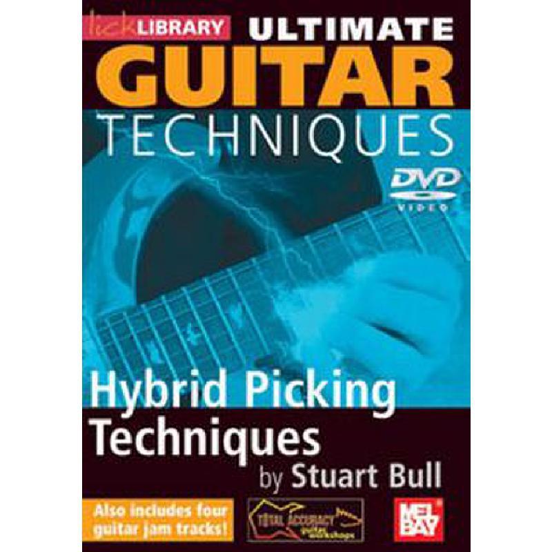 Titelbild für RDR 0151 - ULTIMATE GUITAR TECHNIQUES - HYBRID PICKING TECHNIQUES