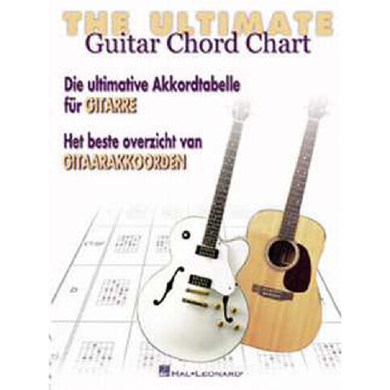 Titelbild für HASKE -DHE0591 - ULTIMATE GUITAR CHORD CHART