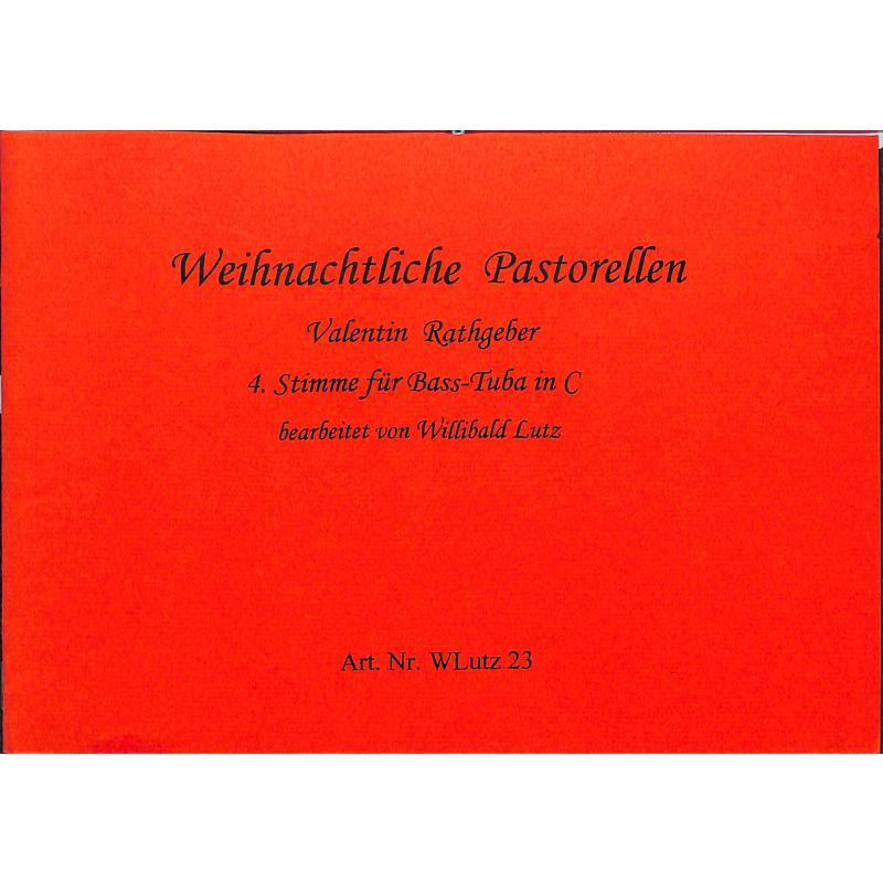 Titelbild für WLUTZ 23 - WEIHNACHTLICHE PASTORELLEN