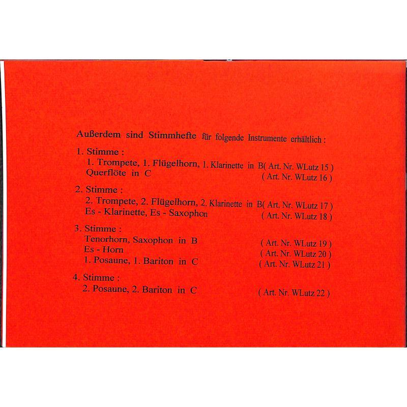 Notenbild für WLUTZ 23 - WEIHNACHTLICHE PASTORELLEN