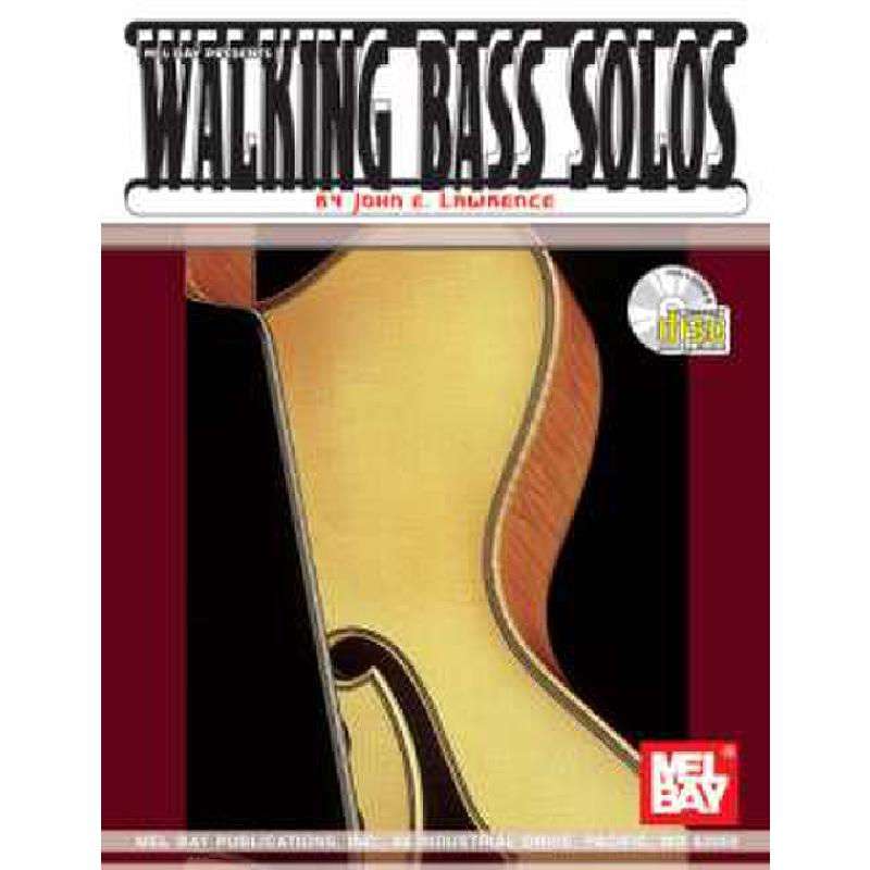 Titelbild für MB 97180BCD - WALKING BASS SOLOS