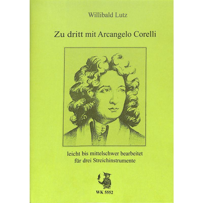 Titelbild für WLUTZ 48 - ZU DRITT MIT ARCANGELO CORELLI