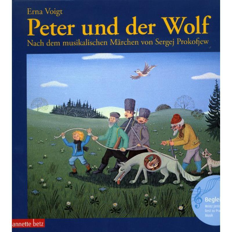 Titelbild für 978-3-219-11060-9 - PETER + DER WOLF