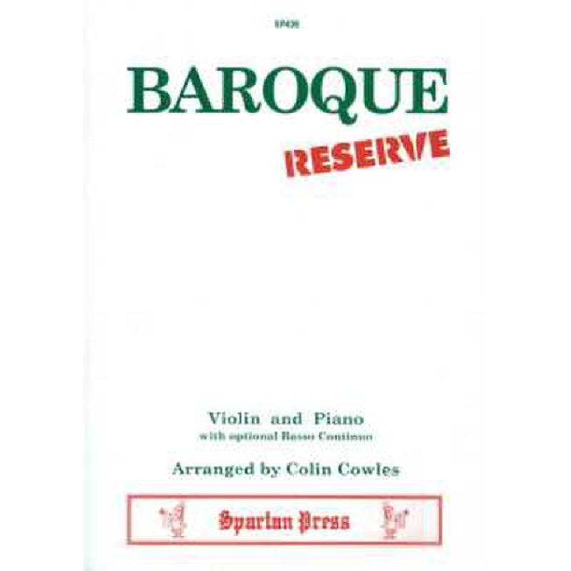 Titelbild für SPARTAN 439 - BAROQUE RESERVE