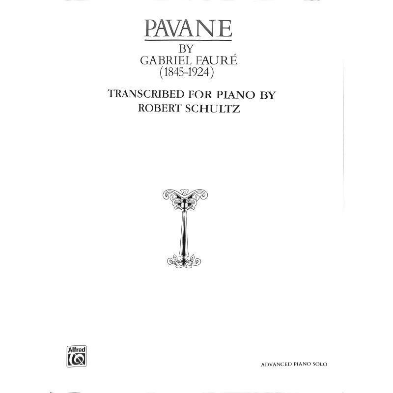 Titelbild für PA 02296 - PAVANE OP 50