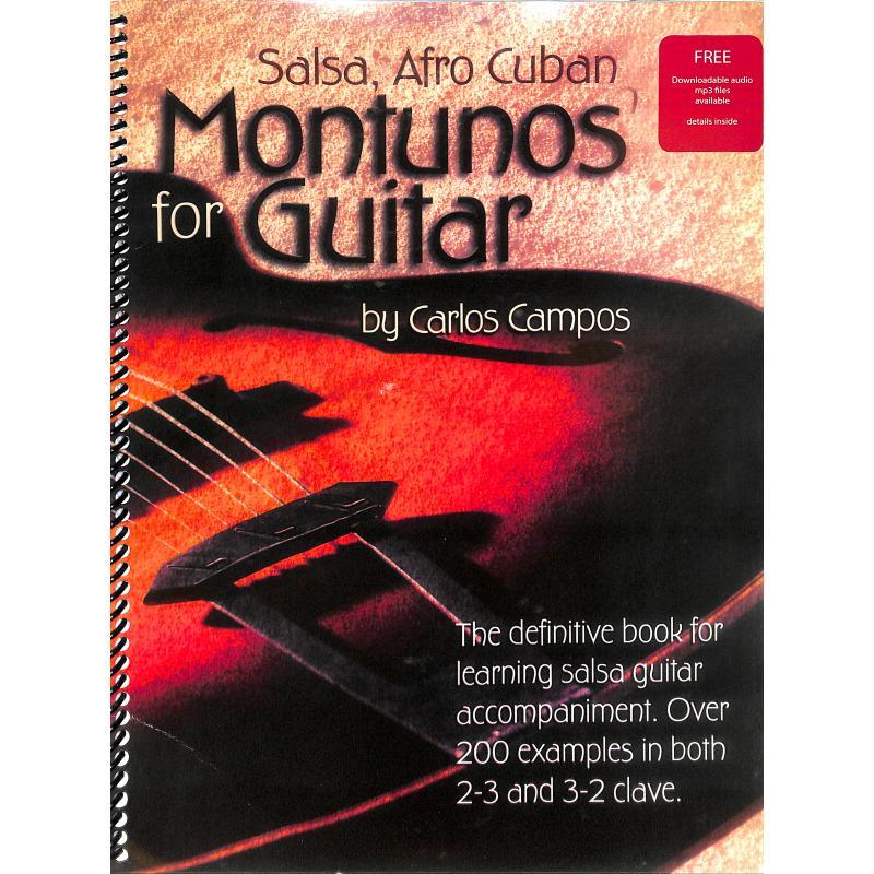 Titelbild für ISBN 1-882146-72-7 - SALSA AFRO CUBAN MONTUNOS FOR GUITAR