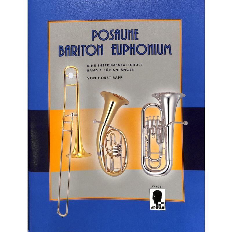 Titelbild für AV 6221 - POSAUNE BARITON EUPHONIUM 1