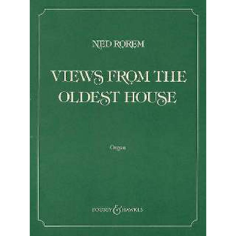 Titelbild für BH 0400736 - VIEWS FROM THE OLDEST HOUSE