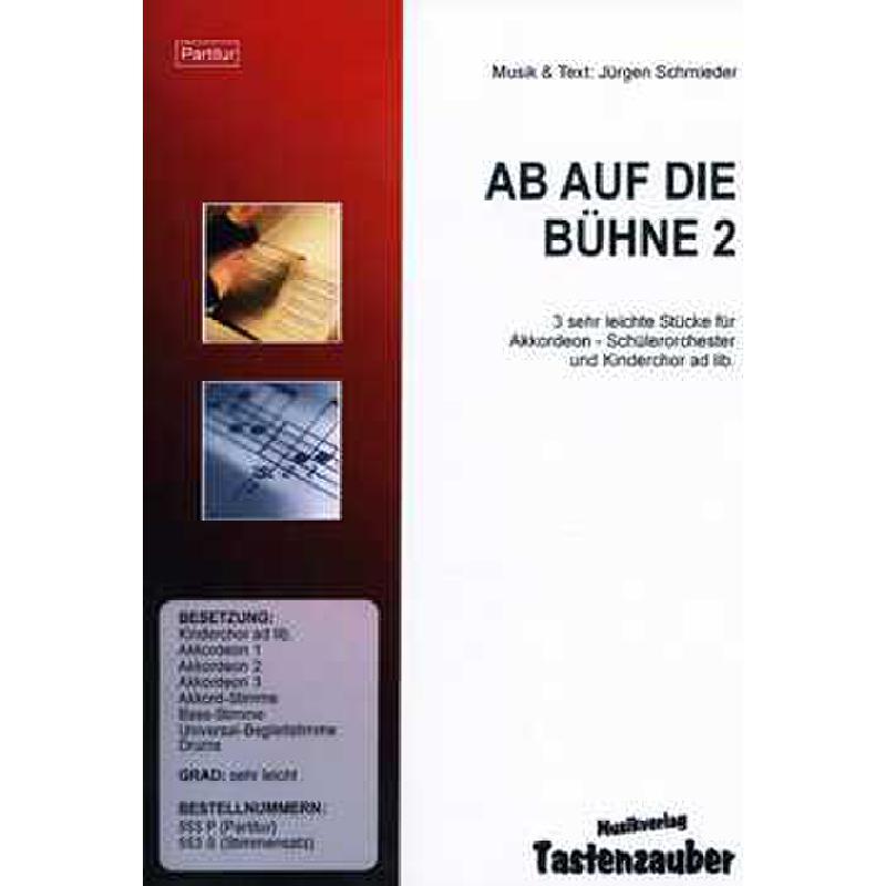 Titelbild für TAST 553-P - AB AUF DIE BUEHNE 2