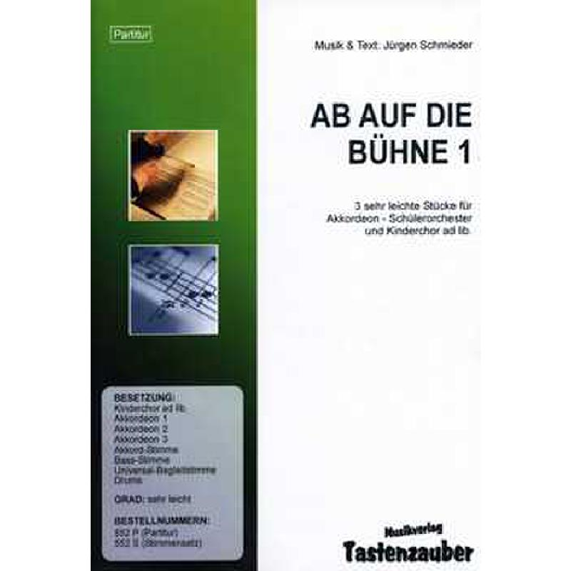 Titelbild für TAST 552-ST - AB AUF DIE BUEHNE 1