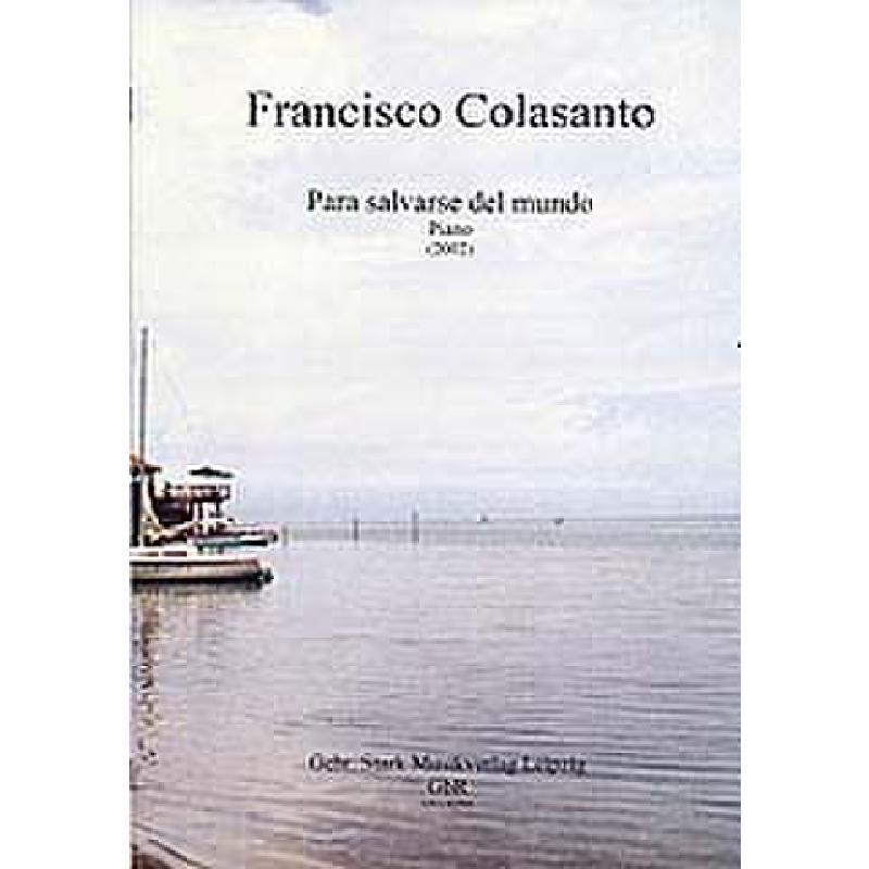 Titelbild für GNS 02701 - PARA SALVARSE DEL MUNDO