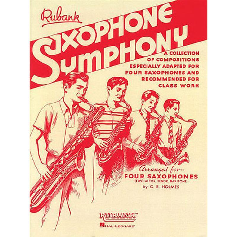 Titelbild für HL 4475323 - SAXOPHONE SYMPHONY
