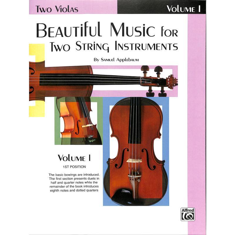 Titelbild für EL 02200 - BEAUTIFUL MUSIC FOR 2 STRING INSTRUMENTS 1