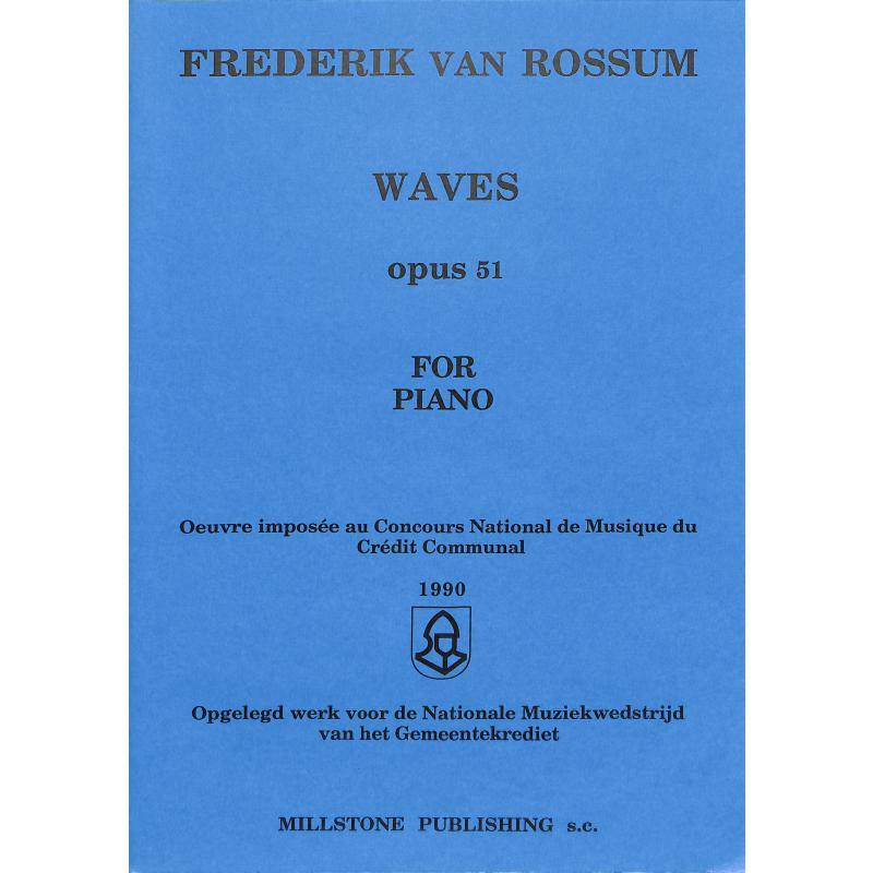 Titelbild für CEBEDEM 5875 - WAVES OP 51