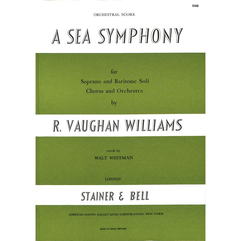 Titelbild für STAINER -D46 - A SEA SYMPHONY