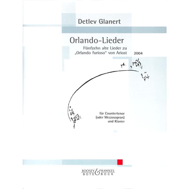 Titelbild für BOTE 3201 - ORLANDO LIEDER