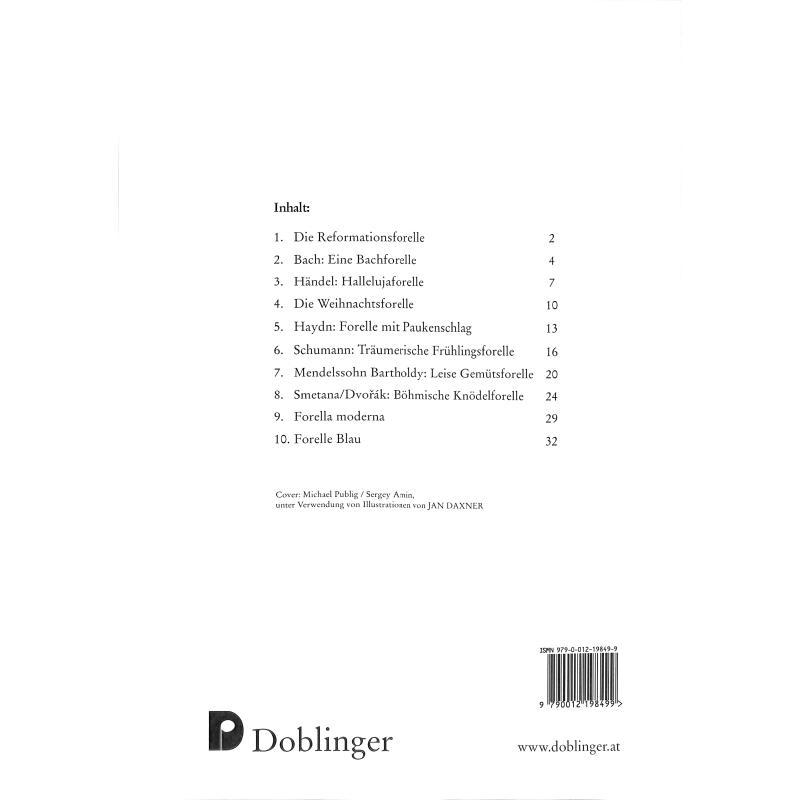 Notenbild für DO 44783 - DIE NEUE LAUNIGE FORELLE - VARIATIONEN