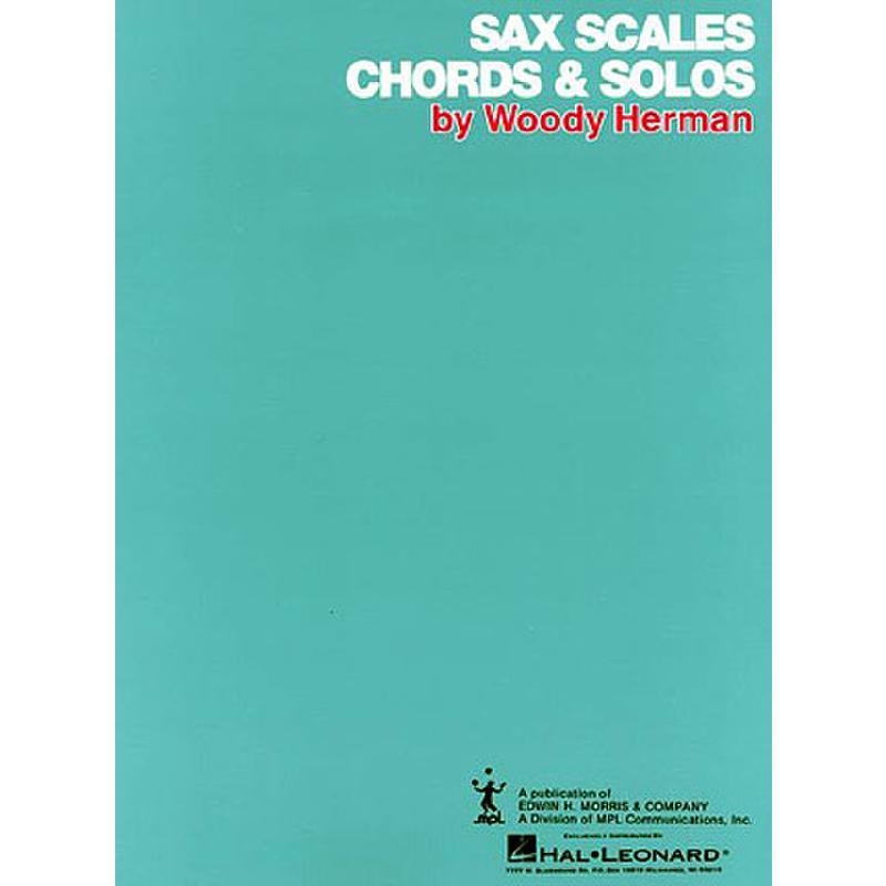 Titelbild für HL 384685 - SAX SCALES CHORDS & SOLOS