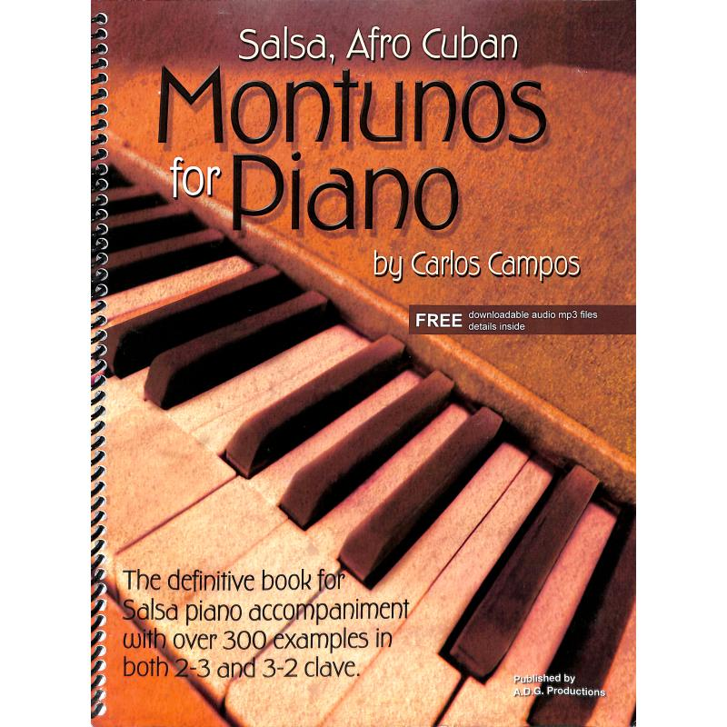 Titelbild für ISBN 1-882146-54-9 - SALSA AND AFRO CUBAN MONTUNOS FOR PIANO