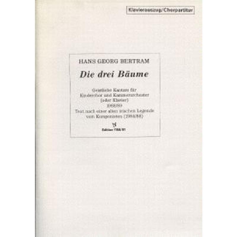Titelbild für VS 1158 - DIE 3 BAEUME