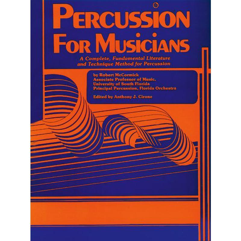 Titelbild für EL 02852 - PERCUSSION FOR MUSICIANS