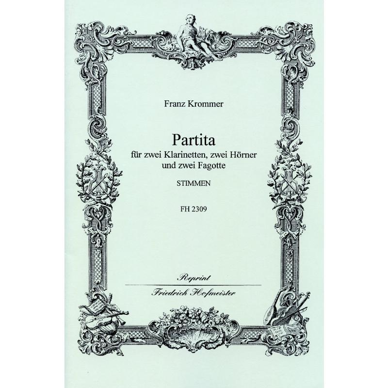 Titelbild für FH 2309 - PARTITA