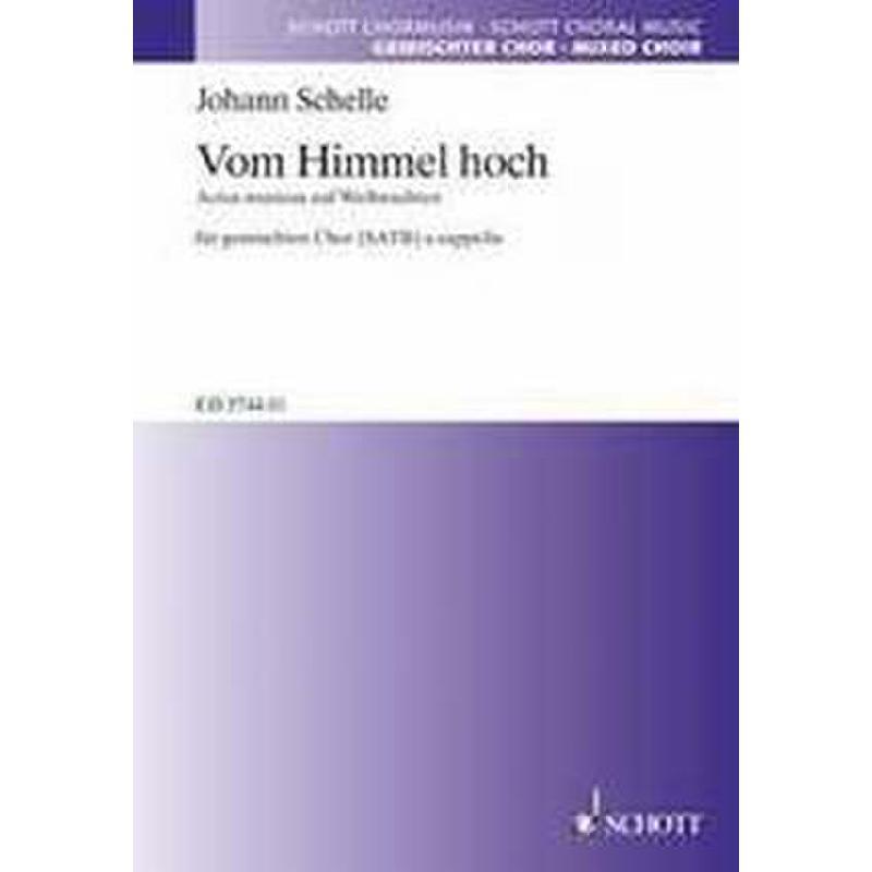 Titelbild für ED 5744-01 - VOM HIMMEL HOCH