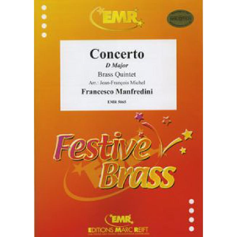 Titelbild für EMR 5065 - CONCERTO D-DUR