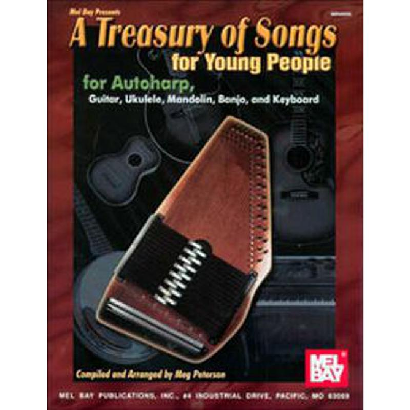 Titelbild für MB 99906 - A TREASURY OF SONGS FOR YOUNG PEOPLE