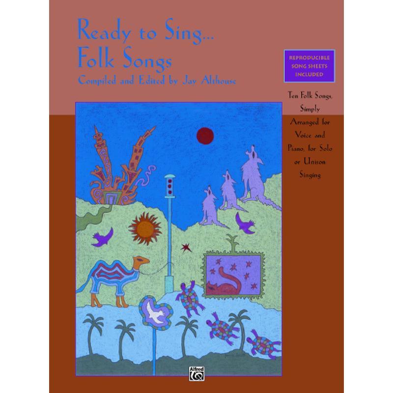 Titelbild für ALF 17173 - READY TO SING FOLK SONGS