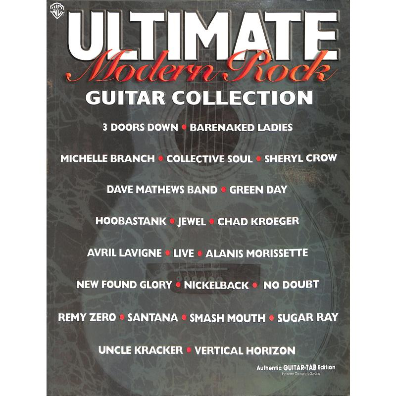 Titelbild für GFM 0304 - ULTIMATE MODERN ROCK GUITAR COLLECTION