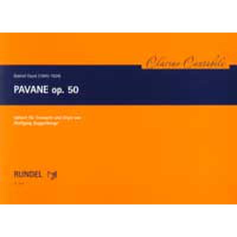 Titelbild für RUNDEL 3951 - PAVANE OP 50