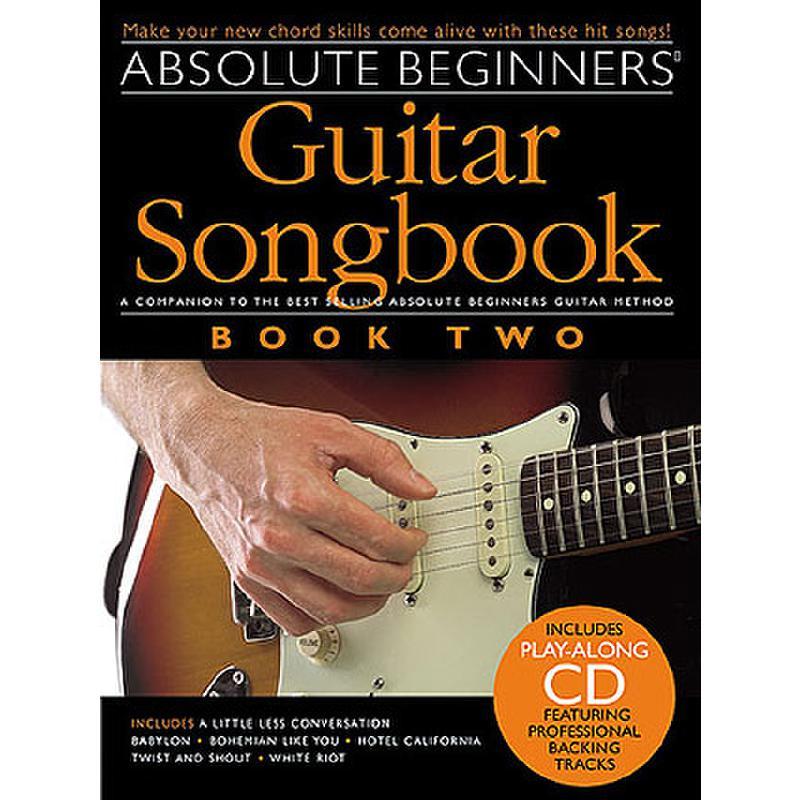 Titelbild für MSAM 969650 - ABSOLUTE BEGINNERS GUITAR SONGBOOK 2