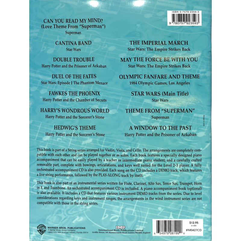 Notenbild für IFM 0427CD - VERY BEST OF