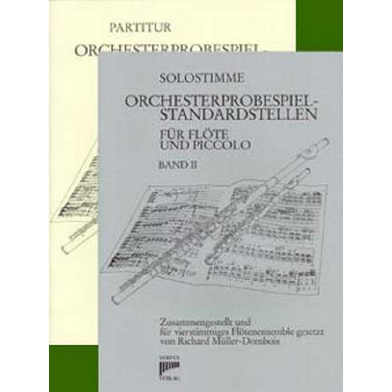 Titelbild für SYRINX 57 - ORCHESTERPROBESPIEL STANDARDSTELLEN 2
