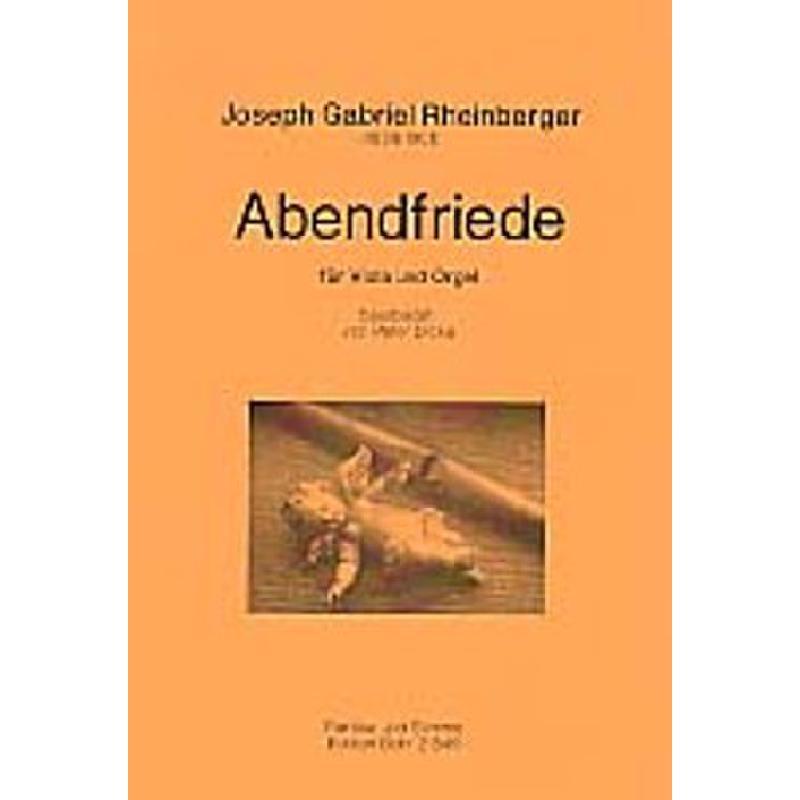 Titelbild für DOHR 21849 - ABENDFRIEDE OP 156/10 (12 CHARAKTERSTUECKE)
