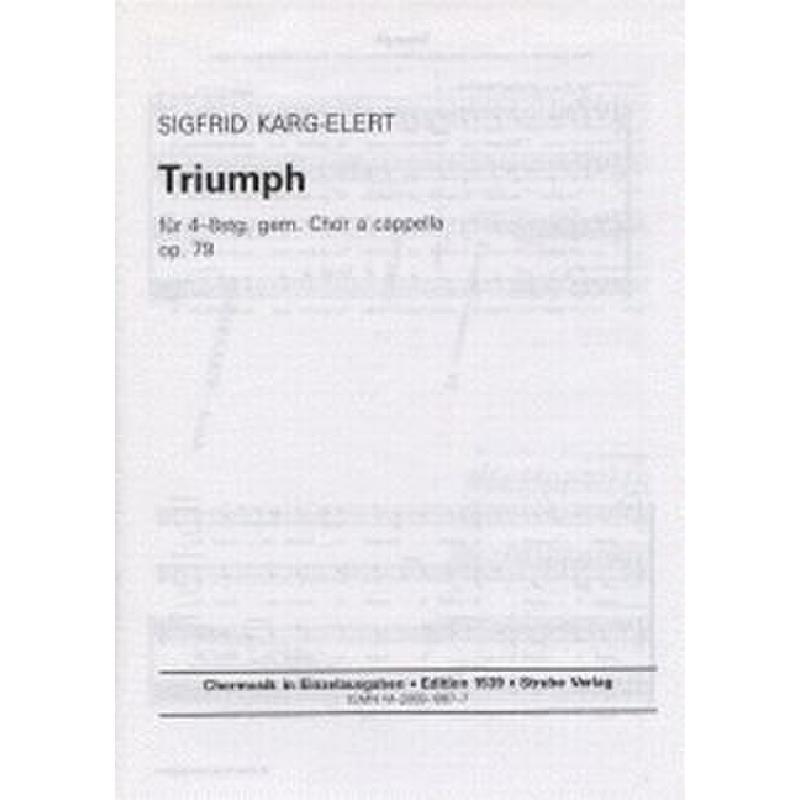 Titelbild für VS 1539 - TRIUMPH OP 79