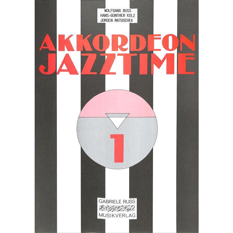 Titelbild für RUSS 018 - AKKORDEON JAZZTIME 1 COMBO PAK