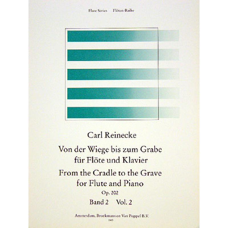 Titelbild für BVP 1663 - VON DER WIEGE BIS ZUM GRABE 2 OP 202