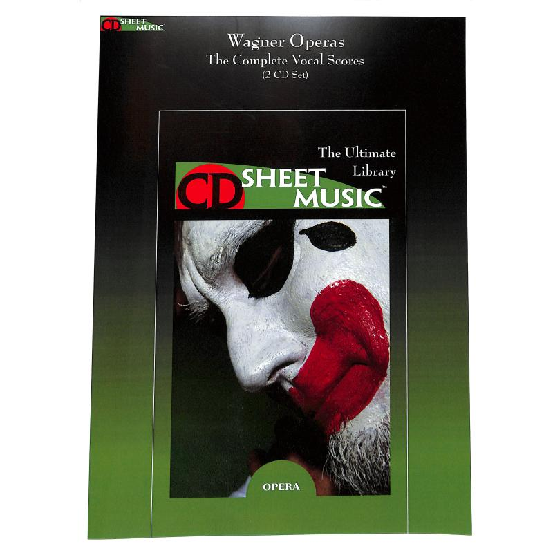 Titelbild für SUBITO 3040-0034 - WAGNER OPERAS - THE VOCAL SCORES