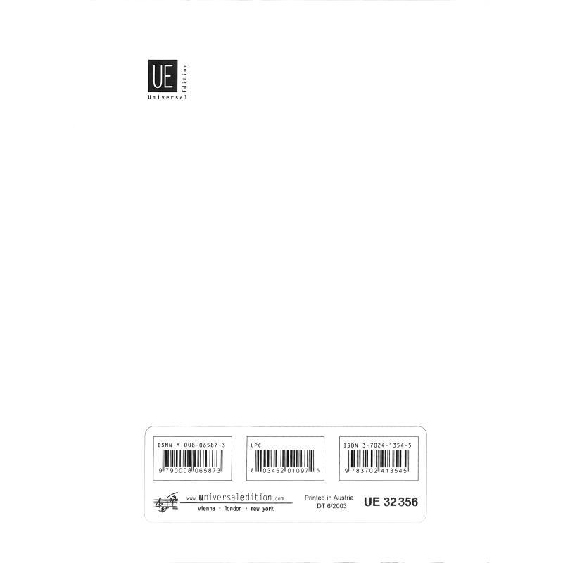 Notenbild für UE 32356 - ZWISCHENBLICK SELBSTHENKER