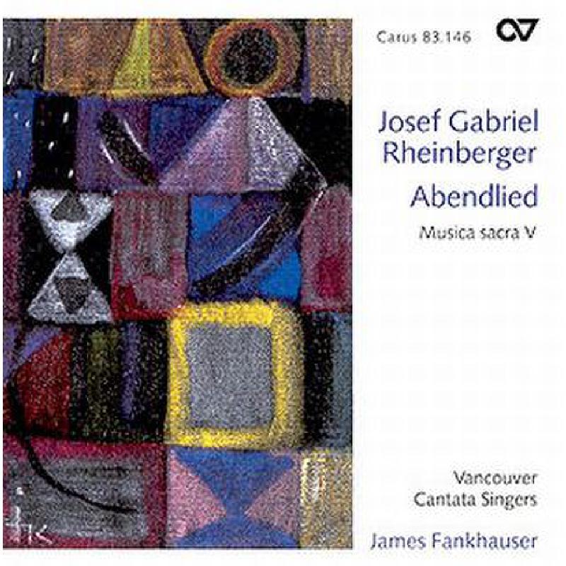 Titelbild für CARUS 83146-00 - Abendlied - Musica sacra 5