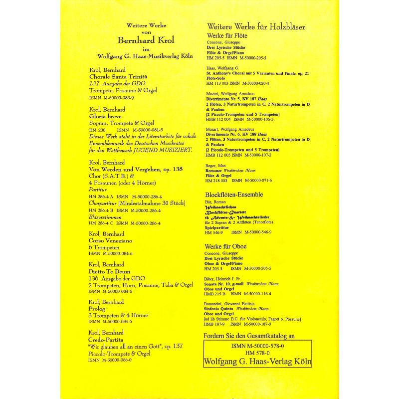 Notenbild für HAAS 578-0 - SANSSOUCI TRIO - MOMENTE EINES