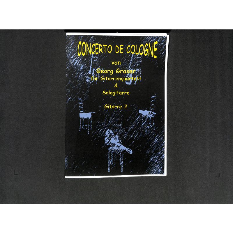 Titelbild für BM 3014G2 - CONCERTO DE COLOGNE